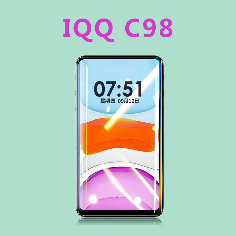 IQQ C98 HiFi <font><b>MP3</b></font> <font><b>Player</b></font> 16G bluetooth 5.0 1080P <font><b>HD</b></font> Video Lossless Music <font><b>MP3</b></font> <font><b>Player</b></font> 3 inch Walkman Support FM E-Book image