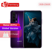Global Version Honor 20 Pro Smartphone 8G 256G Kirin 980 Octa Core 48MP Four Cameras NFC Google Play