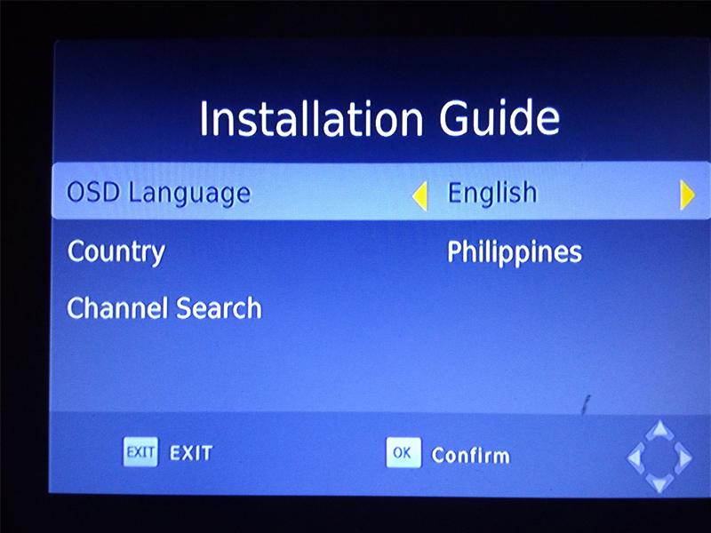 HD FTA ISDB-T receiver tv tuner Terrestrial for Brazil Argentina Chile Venezuela Costa Rica Philippines 8 -