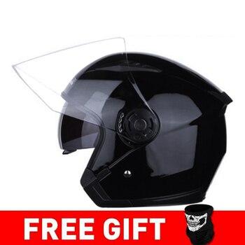 JIEKAI Motorcycle Helmet Open Face Helmets Motocicleta Cascos Para Motorbike Scooter Riding Safety Helmet Cascos Para Moto 12