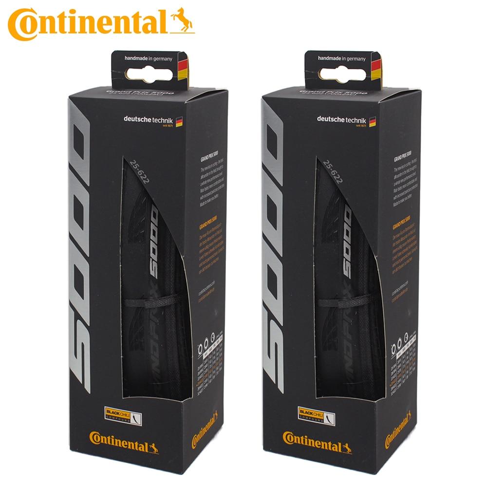 1 paire Continental Grand Prix GP 5000 700 x25C pneu de route pliable pneu/boîte