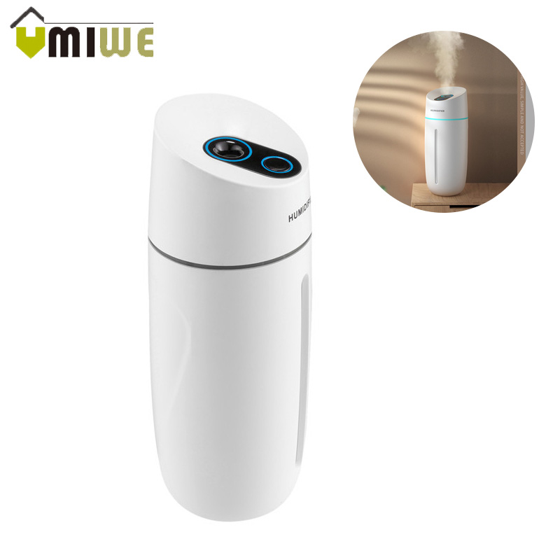 Double AroSpray Air Humidifie With Night Light USB Ultrasonic Cool Mist Maker Car Purifier Mini Quite Humidifier For Home Office