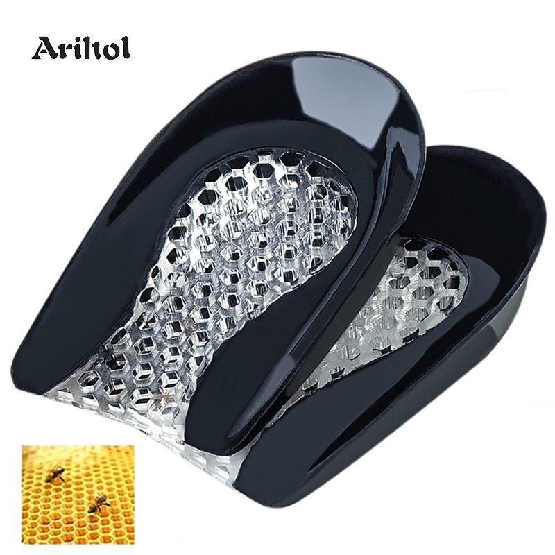 Women Gel Heel Cushion Inserts for Shoes Silicone Heel Cup Pads for Bone Spurs Pain Relief Protectors Plantar Fasciitis Insole(China)