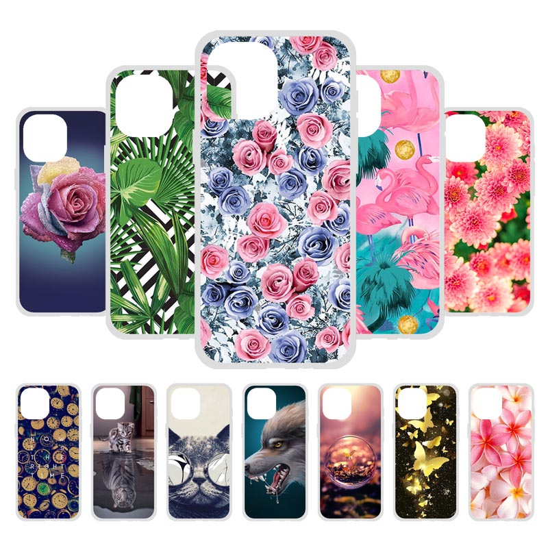 Phone Case For iPhone 11 Pro Max Case SE2 Soft Silicon Back Cover For iPhone 12 SE 2020 X XR XS MAX 7 8 Plus 6 6S Case TPU Coque
