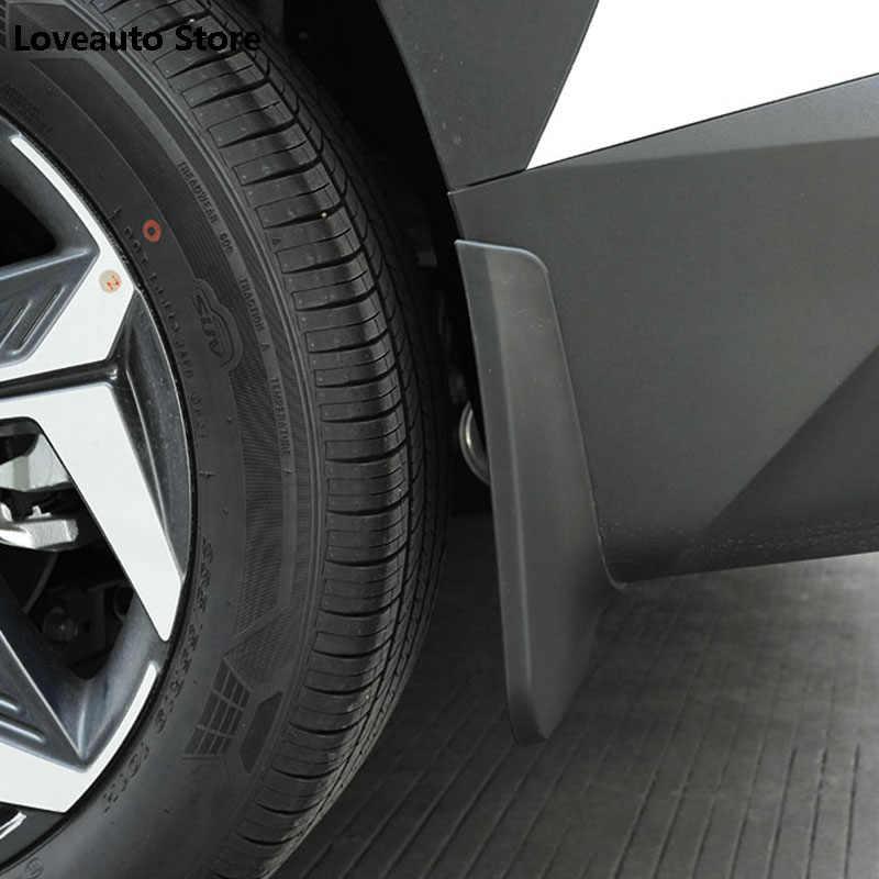 Для Hyundai Tucson NX4 otali.ru-настоящего автомобиля спереди и сзади Брызговики арок Брызговики роспись Брызговики аксессуары