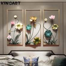 Настенная 3d картина металлическая гостиная настенное искусство