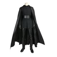 Cossky The Last Jedi Kylo Ren Cosplay Costume Halloween Show Full Set Men Costume