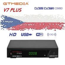GTmedia V7 Plus DVB-T2/S2 Satellite Receiver Unterstützung H.265 PowerVu,DRE Biss VU PVR WiFi Spanien Europa Cline Für 1 Jahr