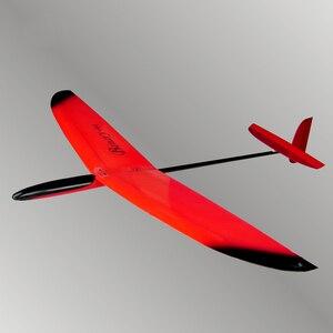 Image 1 - FRP نموذج طائرة التحكم عن بعد غير مدعوم اليد رمي طائرة شراعية طائرة نموذجية 900 11