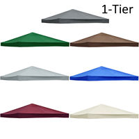 3*3m Tent Canopy Top Roof Replacement Cover Outdoor Waterproof Sun Shelter Sunshade Protection Outdoor Canopy Garden Shade