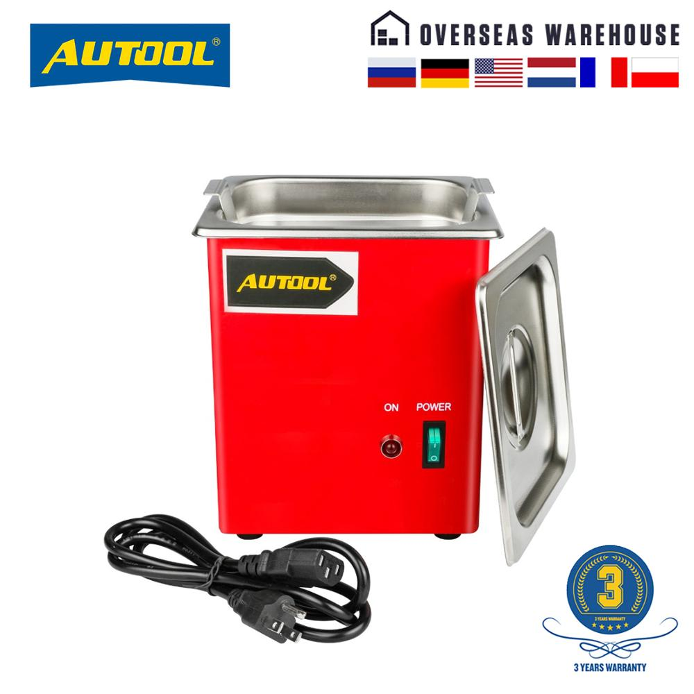 AUTOOL MCT100 Car Ultrasonic Fuel Injector Cleaning Machine Cleaner Auto Petrol Gasoline Diesel Spark Plug PK LAUNCH <font><b>CNC602A</b></font> image