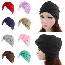 2019 nueva Cruz musulmana Bonnet bufanda gorro interior de hiyab islámico estiramiento Hijab turbante mujer musulmana vincha o pañuelo para la cabeza