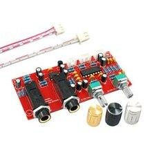 Hot TTKK PT2399 NE5532 Karaoke Board Microphone Amplifier Board Preamplifier Reverberation Echo Board