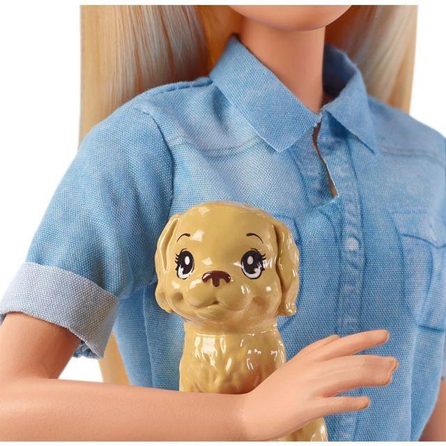 Original Barbie Dolls Brand Travel Girl with Puppy Assortment Fashionista Doll Toys for Children Birthday Gift Reborn Bonecas 3