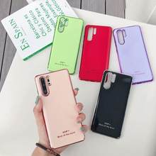 Silicon Soft Case For Huawei P20 P30 Mate 20 Lite Pro Y9 2019 Nova 3I Honor 8X 9 10 Lite Phone Cover Colorful Funda Coque(China)