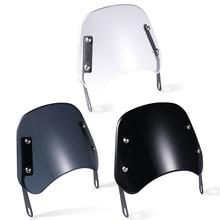 """Motorcycle Windshield Wind Deflector Windscreen Universal for Hon da Yama ha Ka wasaki Su zuki 5"""" 7"""" Headlight"""