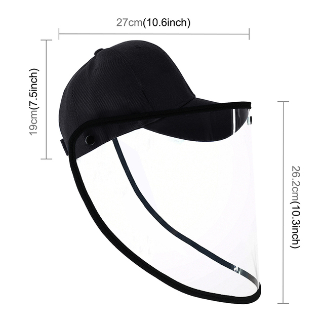 Safety Helmet Mascarillas Face Shield Goggle Protection Anti Saliva Splash Schutzmaske Mascherina Mask Plegable Hard Hat Masque 4