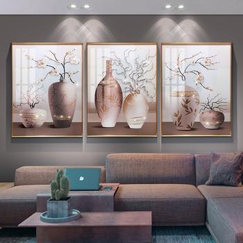 Dropship Living room hanging painting vase wall mural porch corridor sofa background wall decorative painting фото