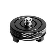Camera Mini Ball Head Photography Cold Shoe Mount Adapter with 1/4 Inch Screw Extension for Studio Flash Light