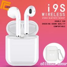 CHDX TWS i9s Wireless Earphones Bluetooth Earbuds Noise Reduction Headphone Head