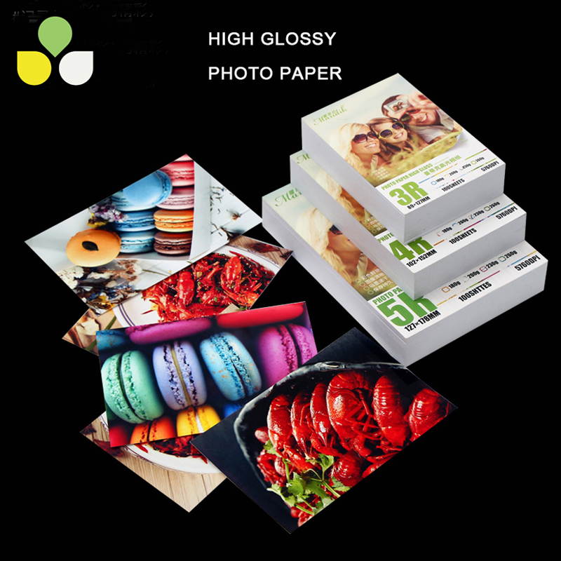 High Quality Luminous Photo Paper 260g (4*6) 6 Inch For Photographic Printing