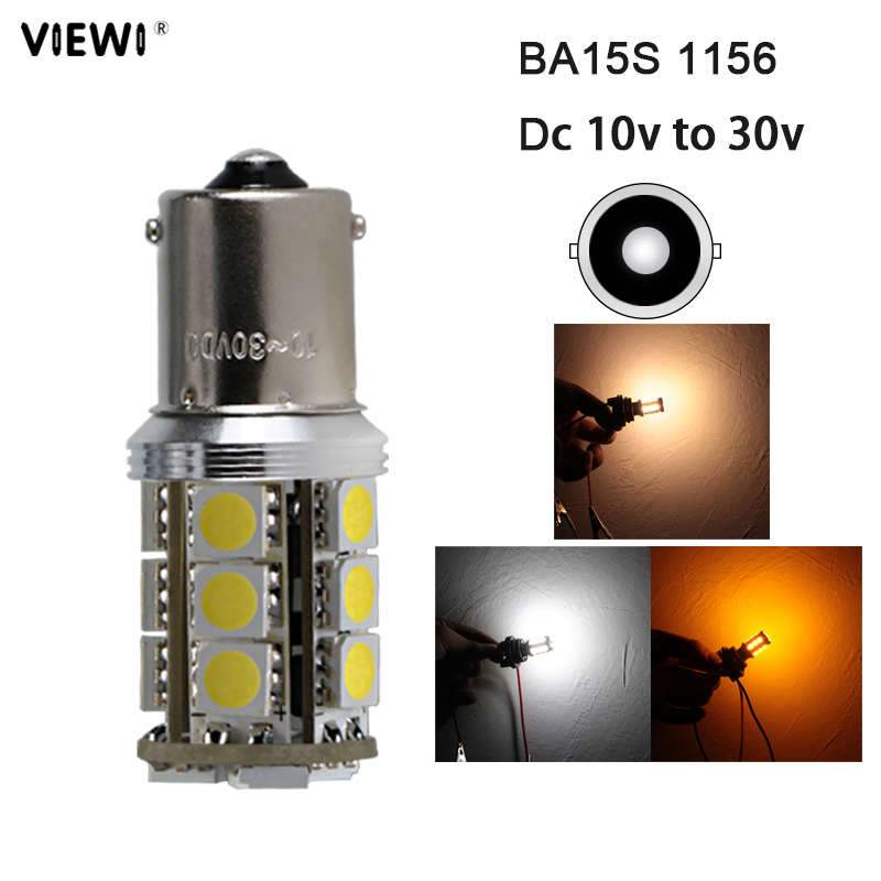 <font><b>bombillas</b></font> <font><b>led</b></font> bulb P21W 1156 BA15S 1141 canbus car Backup Reverse Light auto Tail Lights 10-30V super 3W yellow white 12 <font><b>24</b></font> <font><b>v</b></font> image