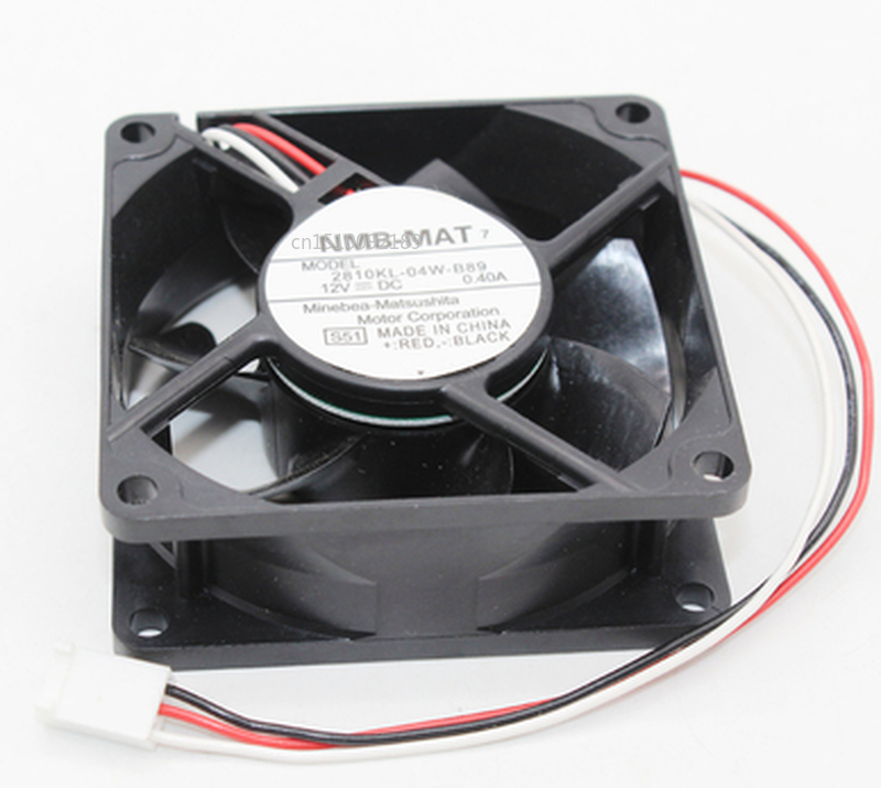 Free Shipping Brand New Original 2810KL-04W-B89 7cm 7025 12V 0.40A Large Air Volume Computer Chassis Cooling Fan