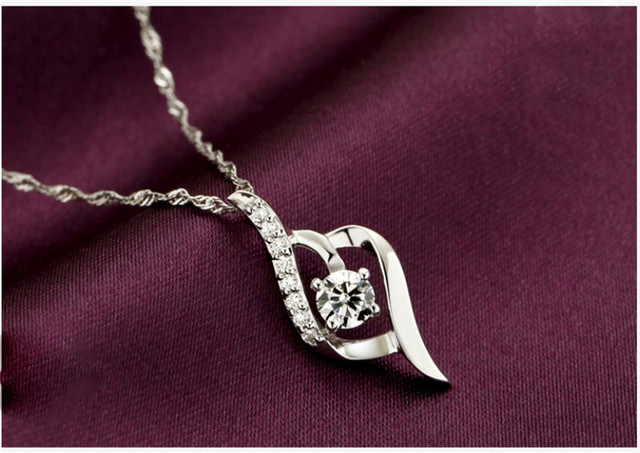 Фото вечерние женские свадебные ожерелья с подвеской элегантные подвески
