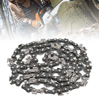 цена на Metal Chainsaw Chain 3/8 050 62DL Chainsaw Metal Chain Blade Garden Woodworking Chain Tools Accessory For Cutting Lumber