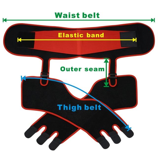 Waist And Thigh Trimmer Thermo Shaper Neoprene Waist And Thigh Trainer High Waist Corset Sweat Body Shapewear Women Fitness Belt 4