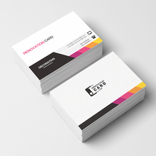 Paper-Cards Custom-Logo Printing 300GSM with Free 500pc/1000pc/lot