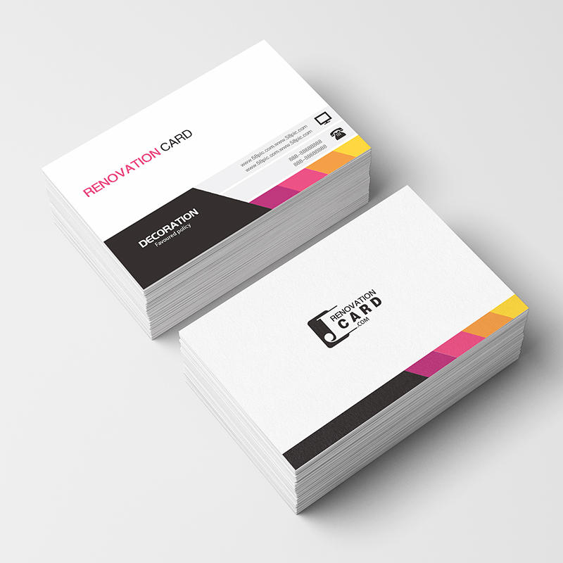 Paper-Cards Custom-Logo Printing Free with 300GSM 500pc/1000pc/lot