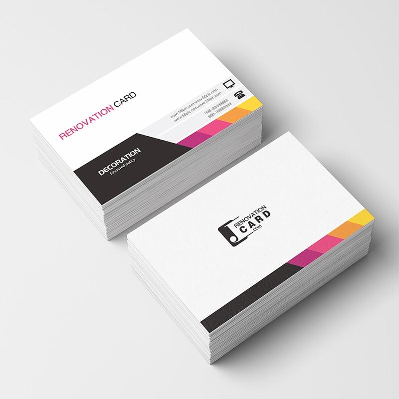 Freeprinting 100pc/200pc/500pc/1000 pc/lote cartões de papel 300gsm do cartão de visita com impressão feita sob encomenda do logotipo livre shipping90 * 54mm