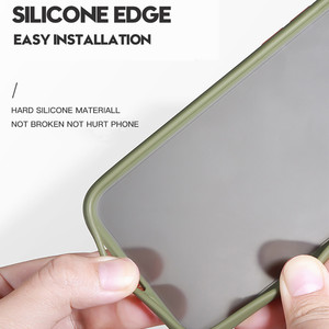 Image 5 - Matte Case For Samsung Galaxy S10 A50 A70 M20 Note 10 Plus A60 M40 S10e A30 Shockproof Hybrid Tough Armor Back Cover Capa Fundas