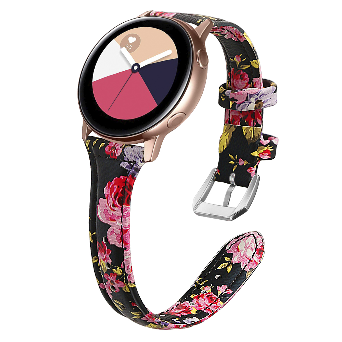 lowest price leather Band For Samsung Galaxy Watch 3 Active 2 44mm 40mm WristBand Strap 20mm Bracelet Watchband for Huami Amazfit GTR 42MM