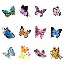 YZWLE 1 лист на выбор бабочка серия наклейки для ногтей водяные наклейки для ногтей искусство переводные наклейки s для ногтей
