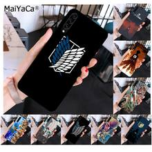 MaiYaCa Anime Japanischen angriff auf Titan Muster TPU Weichen Telefon Fall für Samsung A10 20s 71 51 10s 20 40 50 70 A9 2018