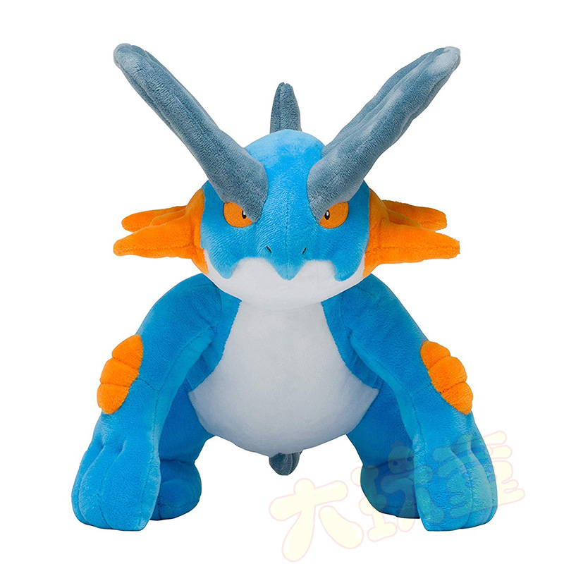 takara-tomy-plush-doll-font-b-pokemon-b-font-swampert-mega-soft-toy-animal-pp-cotton-stuffed-30cm