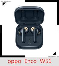 Original OPPO Enco W51 TWS Bluetooth 5,0 unterdrückung DE Bruit Sans fil ecouteurs gießen Reno 4 Pro 3 Trouver X2 pro ACE