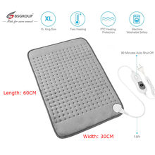 Extra Large XL King Size 30*60CM 220V-240V Microwave Electric Heating Pad for Stomach Lower Back Pain Relief Body Warmer EU Plug