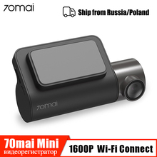 70mai Dash Cam Mini 1600P HD Smart car dvr камера Wifi приложение Авто Видео Recoder 140 FOV g-сенсор ночное видение 24H монитор парковки