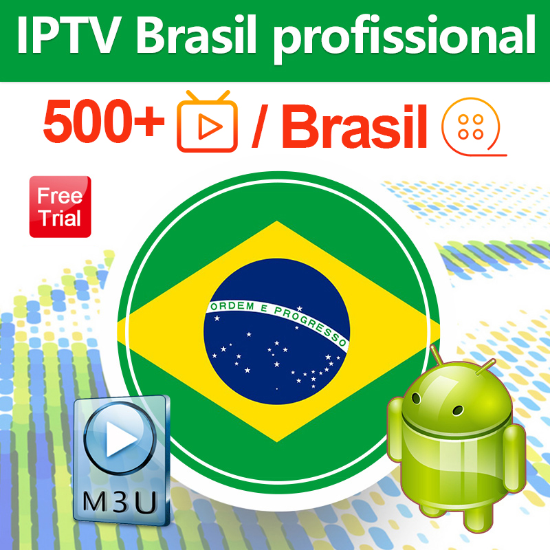 IPTV Brazil Subscription Code For Android WSTV 500+ IPTV Brazil Portuguese IPTV Subscription Brasil Free Test IP TV