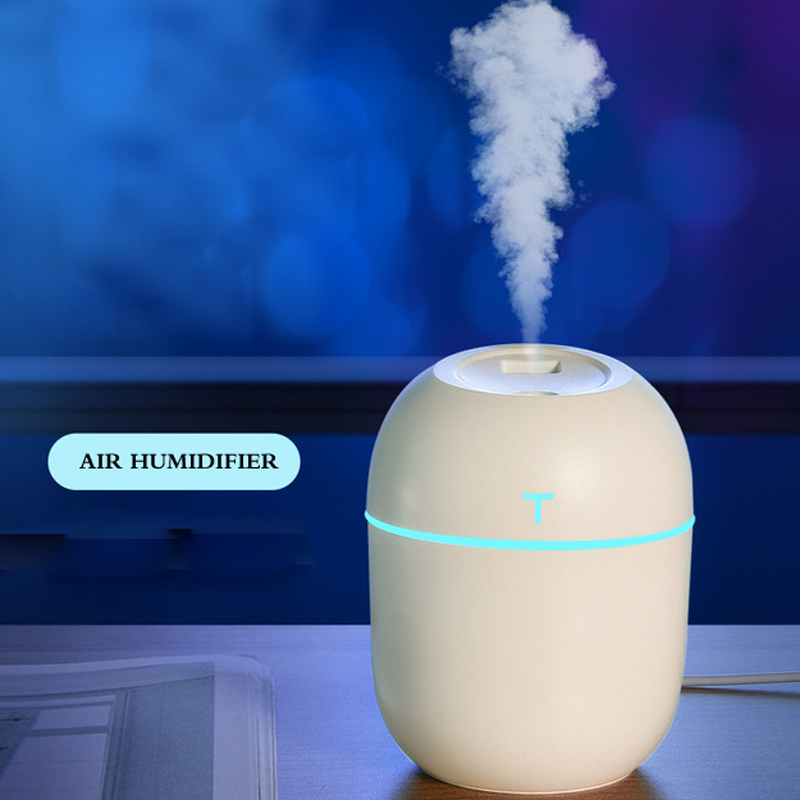 ELOOLE Lovely Air Humidifier Aromatherapy For Home USB Ultrasonic  Diffuser Essential Oil Mist Maker With LED Light Gifts