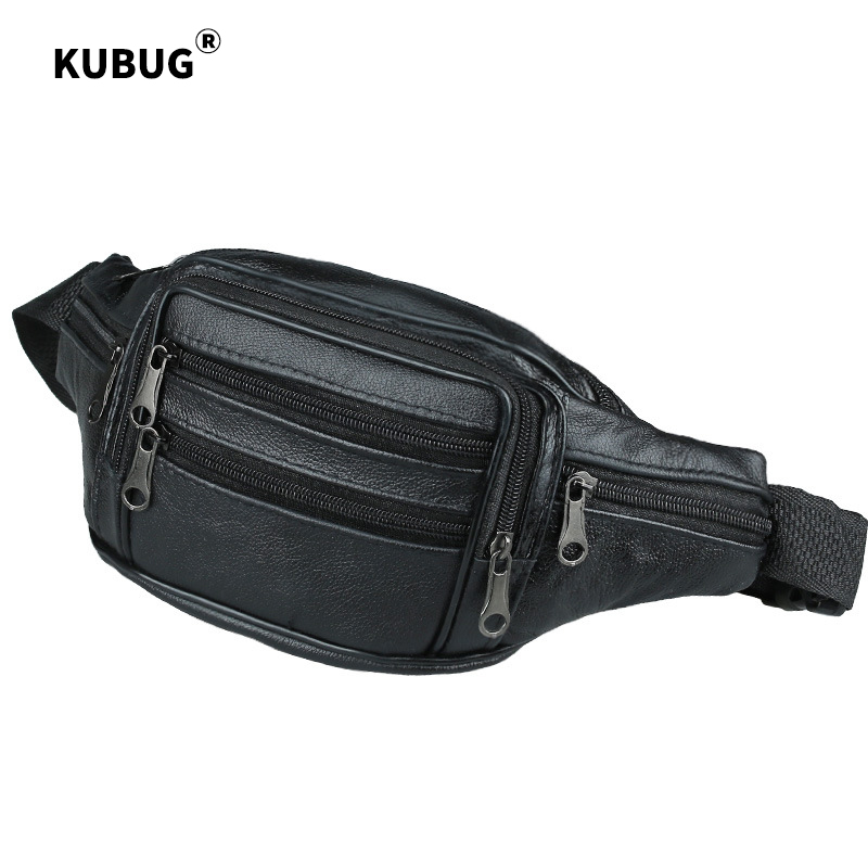 Men Women Leather Running Bag Sports And Leisure Mobile Phone Bag Multi-functional Shoulder Bag