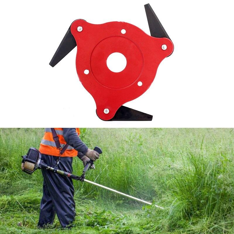 3 Steel Razor Manganese Stee String Trimmers Garden Tools Trimmer Head Brush Cutter Durable Spring Grass Brushcutter