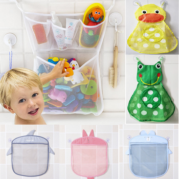 Bath Toys Kids Baby Tidy Storage Suction Cup Bag Bathroom Bathtub Doll Hanging bag Bath Toy Basket Mesh Storage Bag Water toy kids baby bath tub toy tidy storage suction cup bag mesh bathroom organiser net