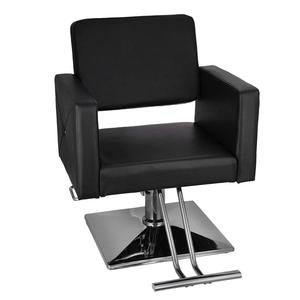 VEVOR Hydraulic Barber Chair PU Leather Styling Chairs for Salon Modern Hairdresser Tattoo Shaving Lift Square Barber Chair(China)