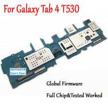 Tested Full Work Unlock Original Motherboard For Samsung Galaxy Tab 4 10.1 T530 WIFI Logic Circuit Electronic Panel(China)