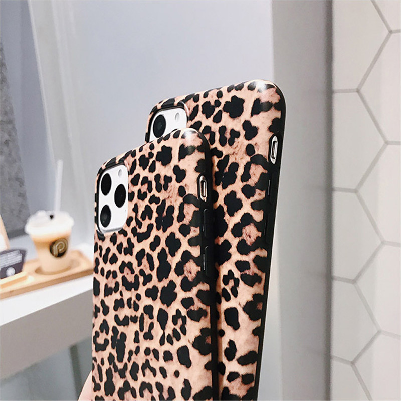 KJOEW Luxury Leopard Print Phone Case For iPhone 7 8 6 6s Plus 11 Pro X XR XS Max SE 2020 Soft Silicone Back Cover Fashion Coque Cellphones & Telecommunications iPhone Cases/Covers Mobile Phone Accessories Phone Covers d92a8333dd3ccb895cc65f: For iPhone 11|For iPhone 11 Pro|For iPhone 11Pro Max|For iphone 6|for iPhone 6plus|For iphone 6S|For iphone 6s Plus|For iPhone 7|For iphone 7Plus|For iPhone 8|for iPhone 8Plus|For iPhone SE 2020|For iPhone X|For iPhone XR|For iPhone XS|For iPhone XS Max