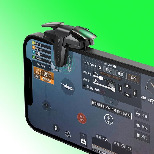 Black Shark Split Type Gaming Trigger Game Accessory PUGB COD LOL Phone GamePad 2